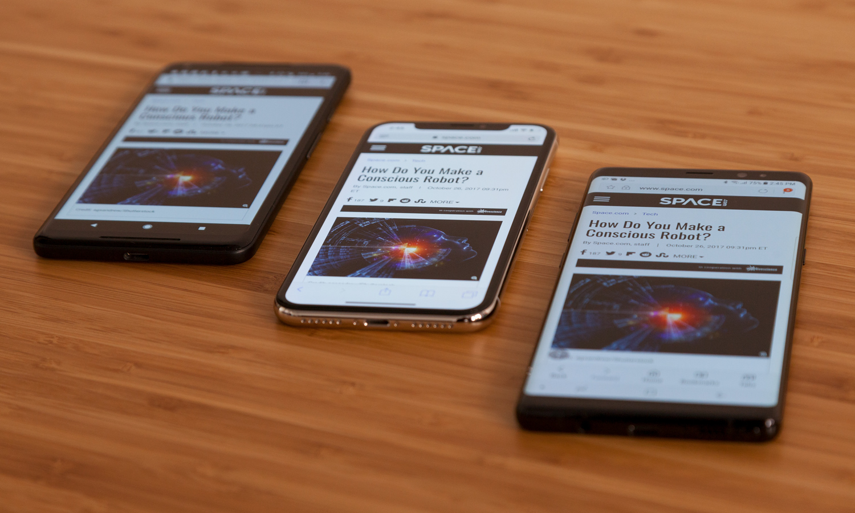 iPhone X Ecran OLED Note 8 Pixel 2 3