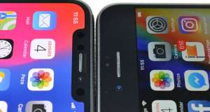 iPhone X Face ID inclinat