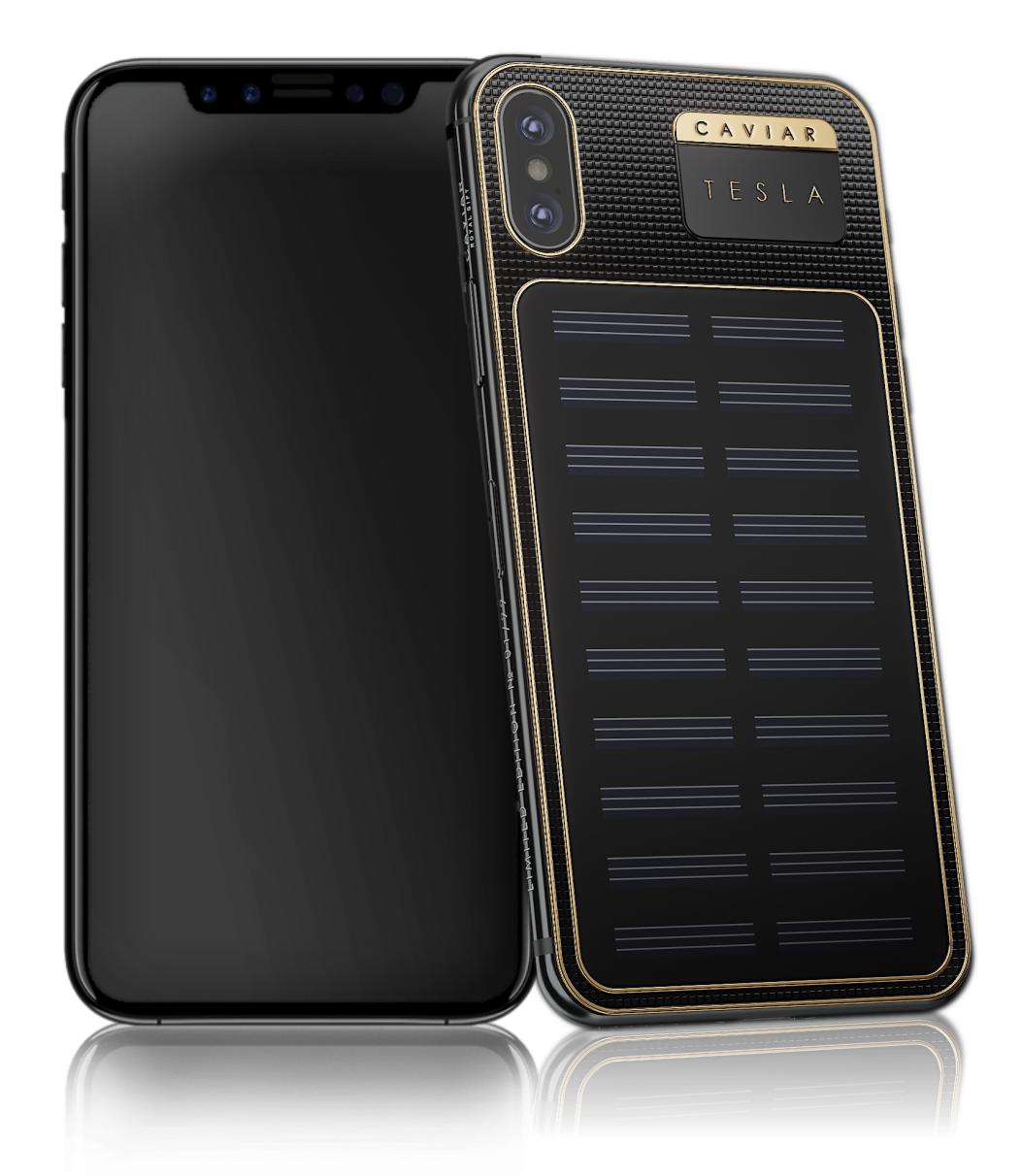 iPhone X Tesla 1