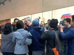 iPhone X Tim Cook Lansare