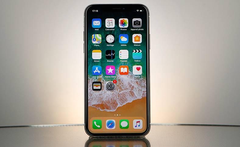 iPhone X costa componente