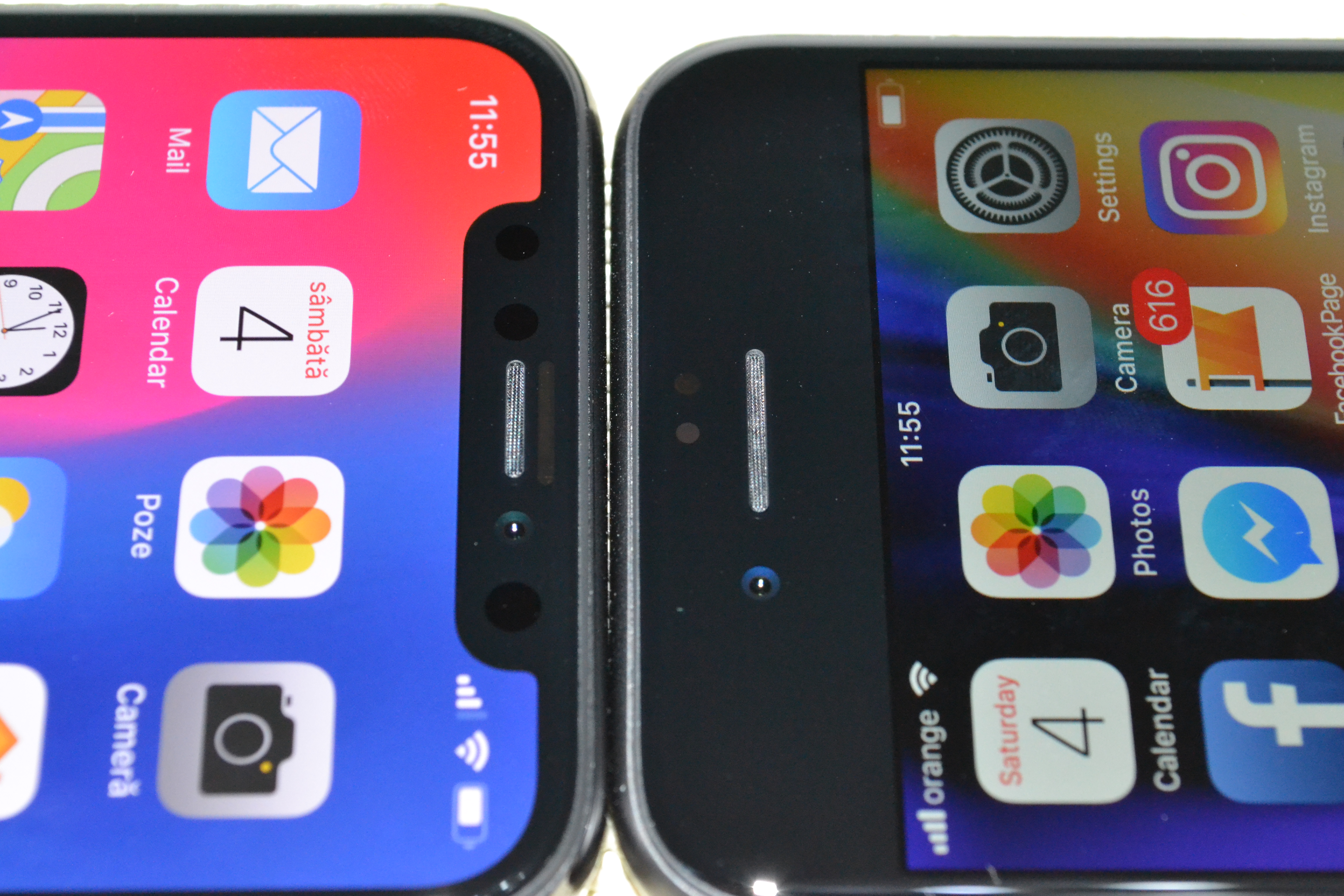 iPhone X design iPhone 8 comparatie 1