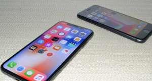 iPhone X design iPhone 8 comparatie