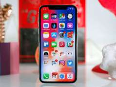 iPhone X ecran smartphone