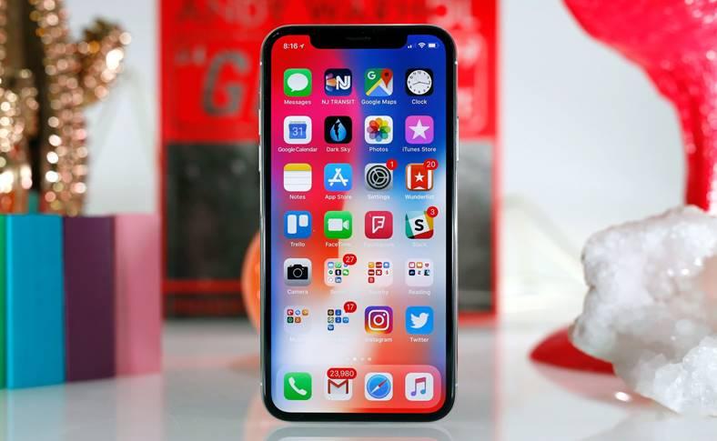 iPhone X ecran smartphone