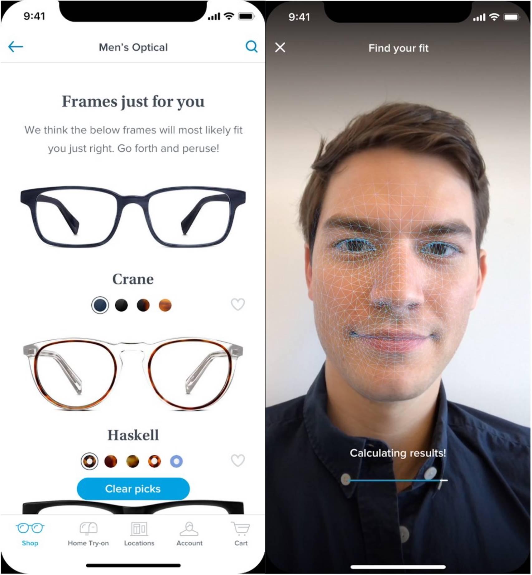 iPhone X face ID ochelari