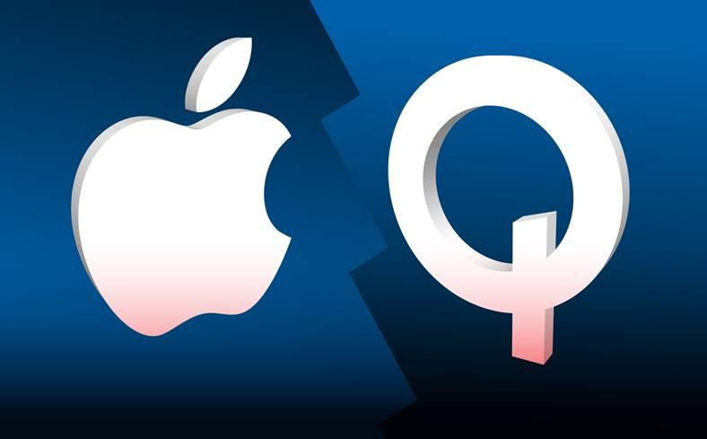 iPhone X iPhone 8 Apple Qualcomm