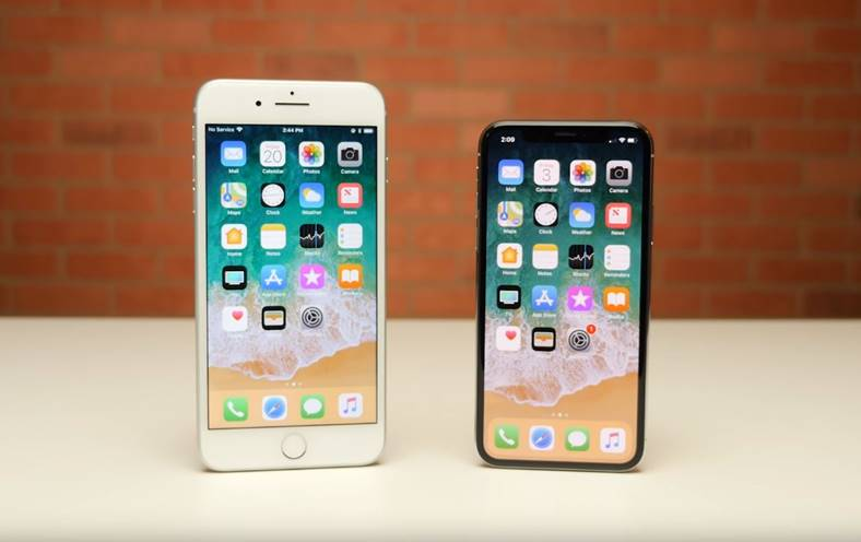 iPhone X iPhone 8 Plus drop test