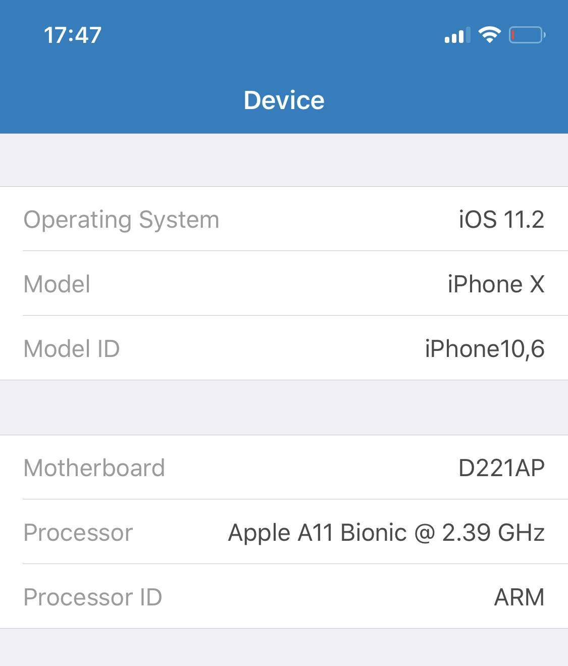 iPhone X performante 1