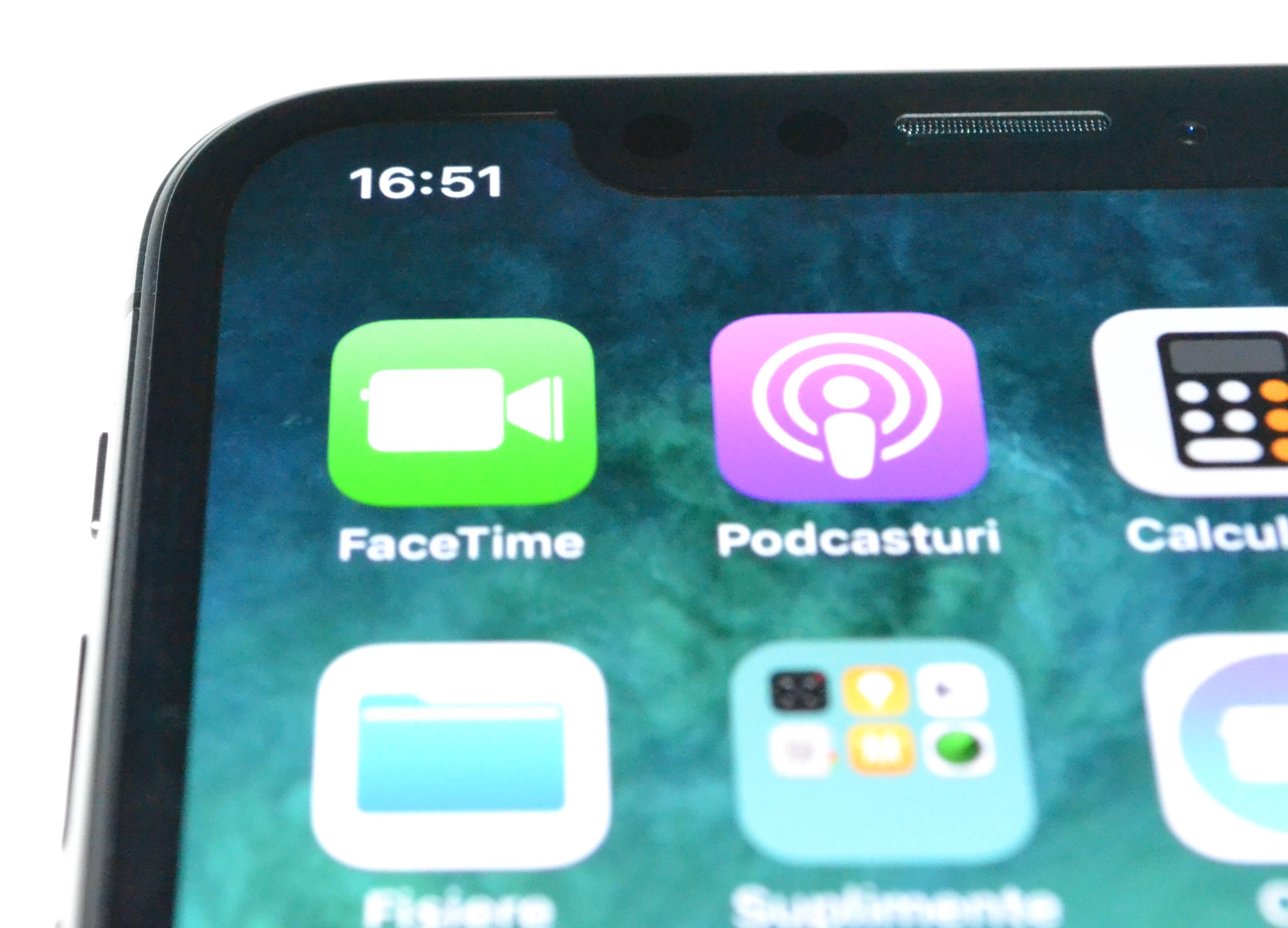 iPhone X review ecran