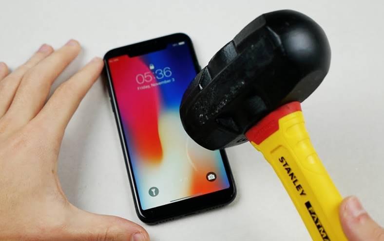iPhone X test rezistenta