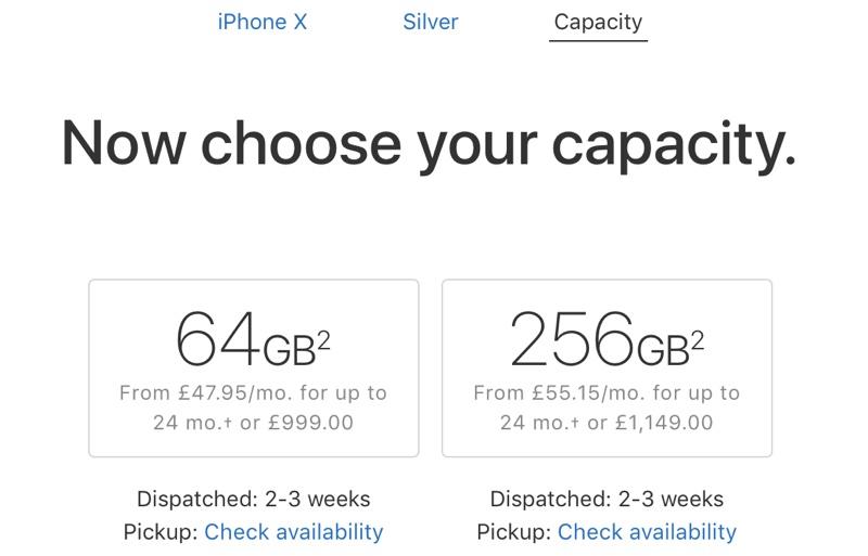 iPhone X timpi livrare