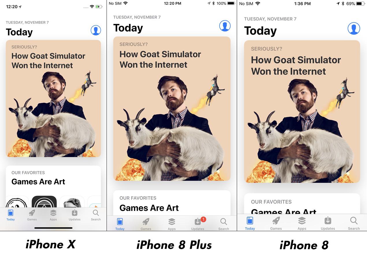 iPhone X vs iPhone 8 Plus Impact Rezolutie Afisare Imagini 6