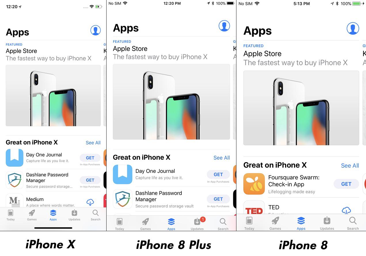 iPhone X vs iPhone 8 Plus Impact Rezolutie Afisare Imagini 7