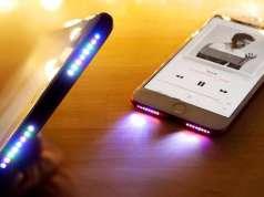 iPhone iluminare difuzoare