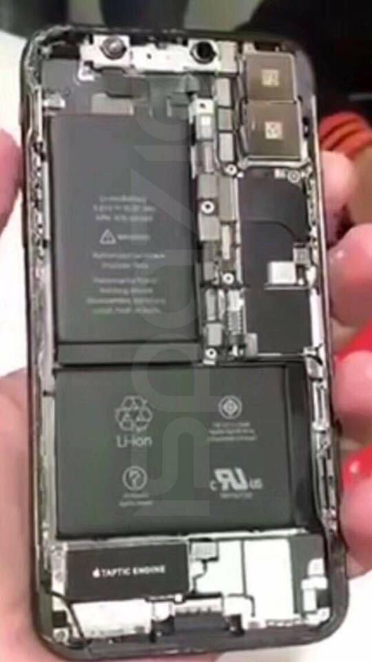 iPhone x doua baterii 2