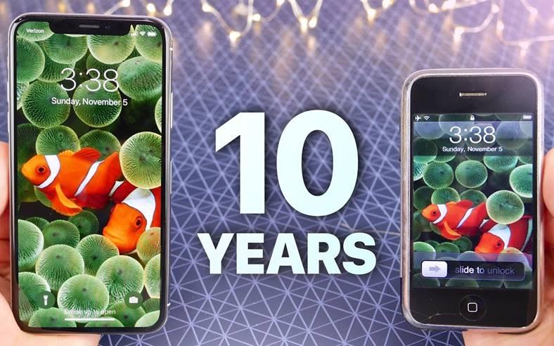 iPhone x modele iphone 10 ani