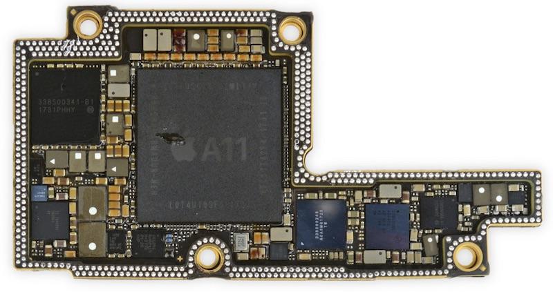 iphone x placa logica baterie noutati 4