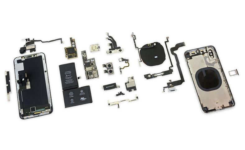 iphone x placa logica baterie noutati