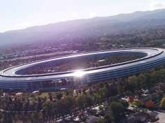 Apple Park nefinalizat decembrie