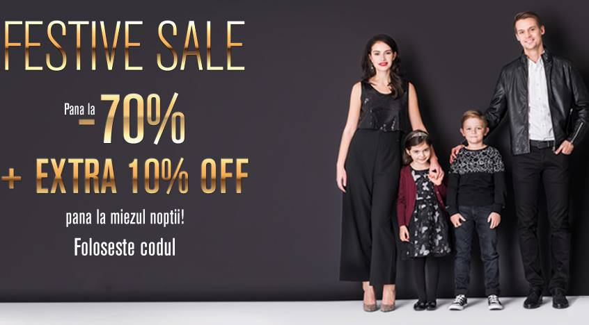 Fashion Days 27 decembrie Reduceri Festive Sale