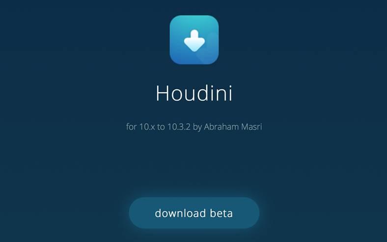 Houdini iOS 10 jailbreak
