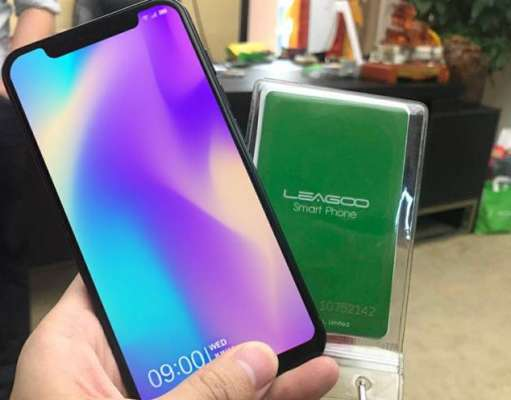 Leagoo S9 iphone x