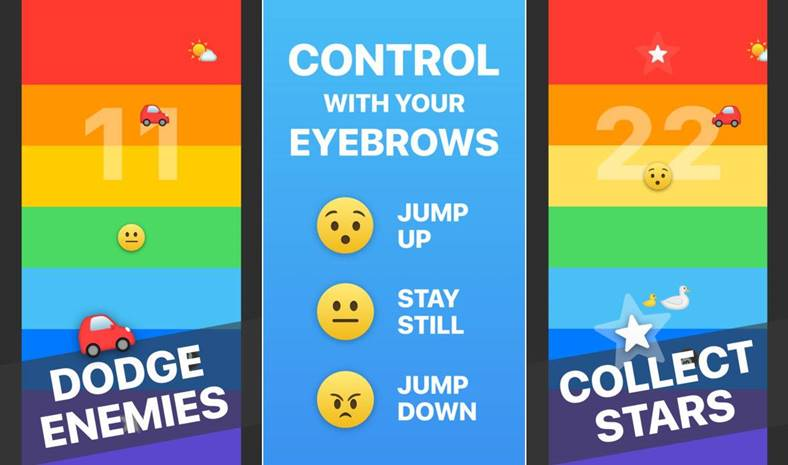 Rainbow joc iPhone X