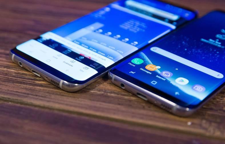 Samsung Galaxy S8 stricat actualizare