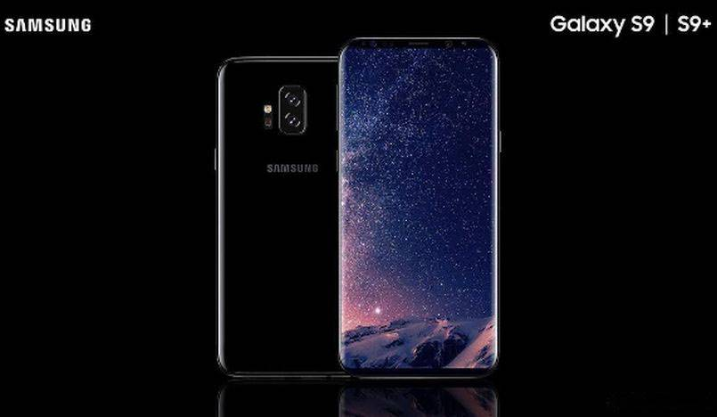 Samsung Galaxy S9 componenta design