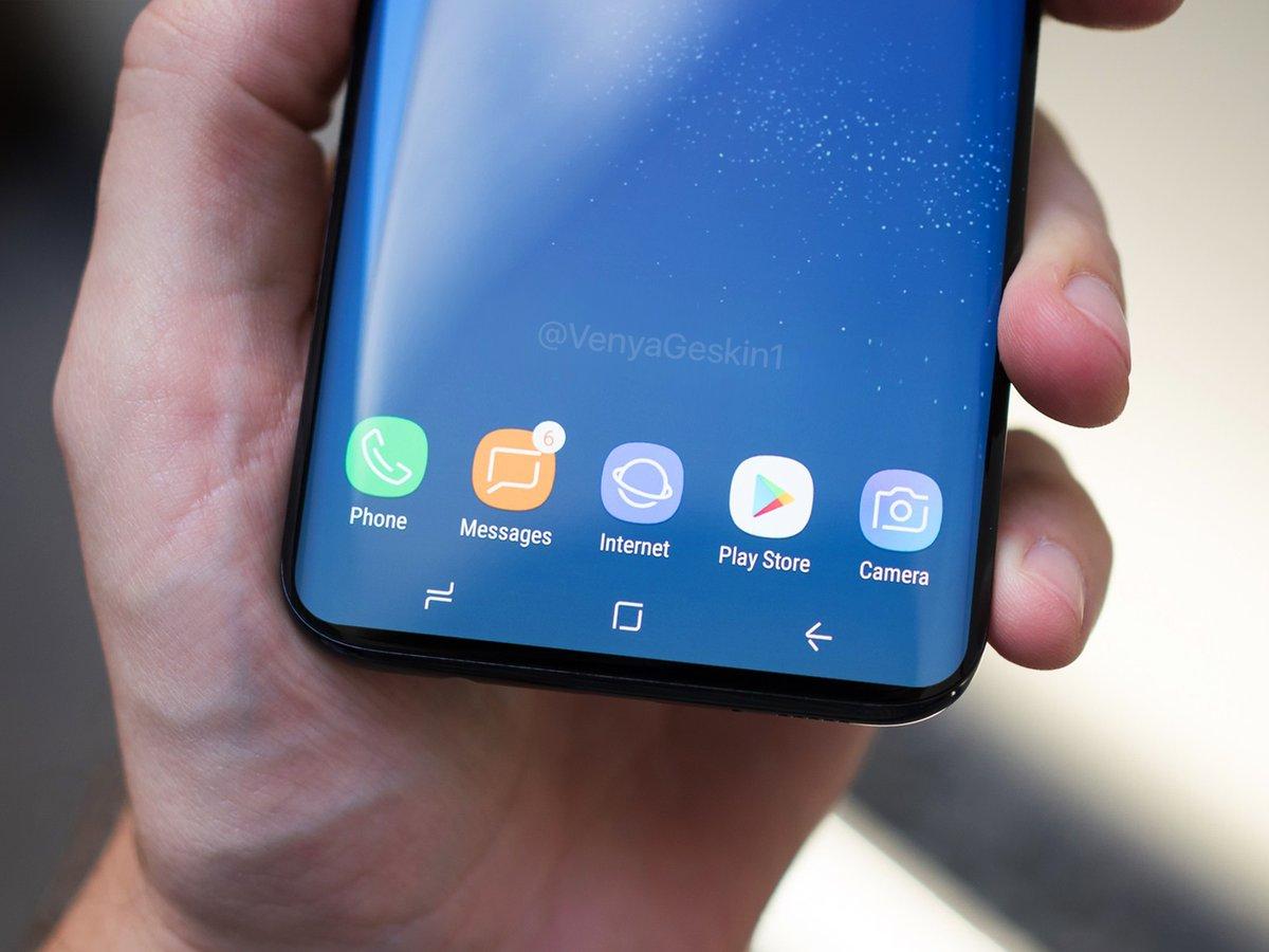 Samsung Galaxy S9 concept design 1