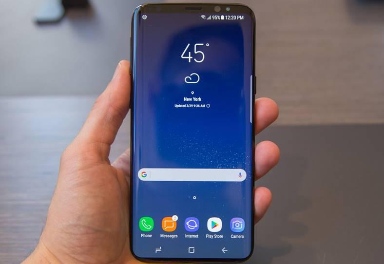 Samsung Galaxy S9 design concept