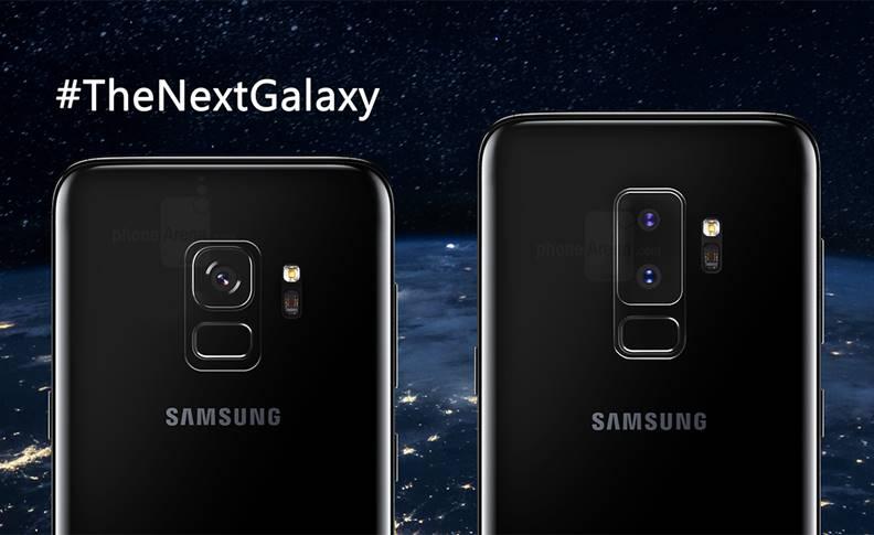 Samsung Galaxy S9 design oficial