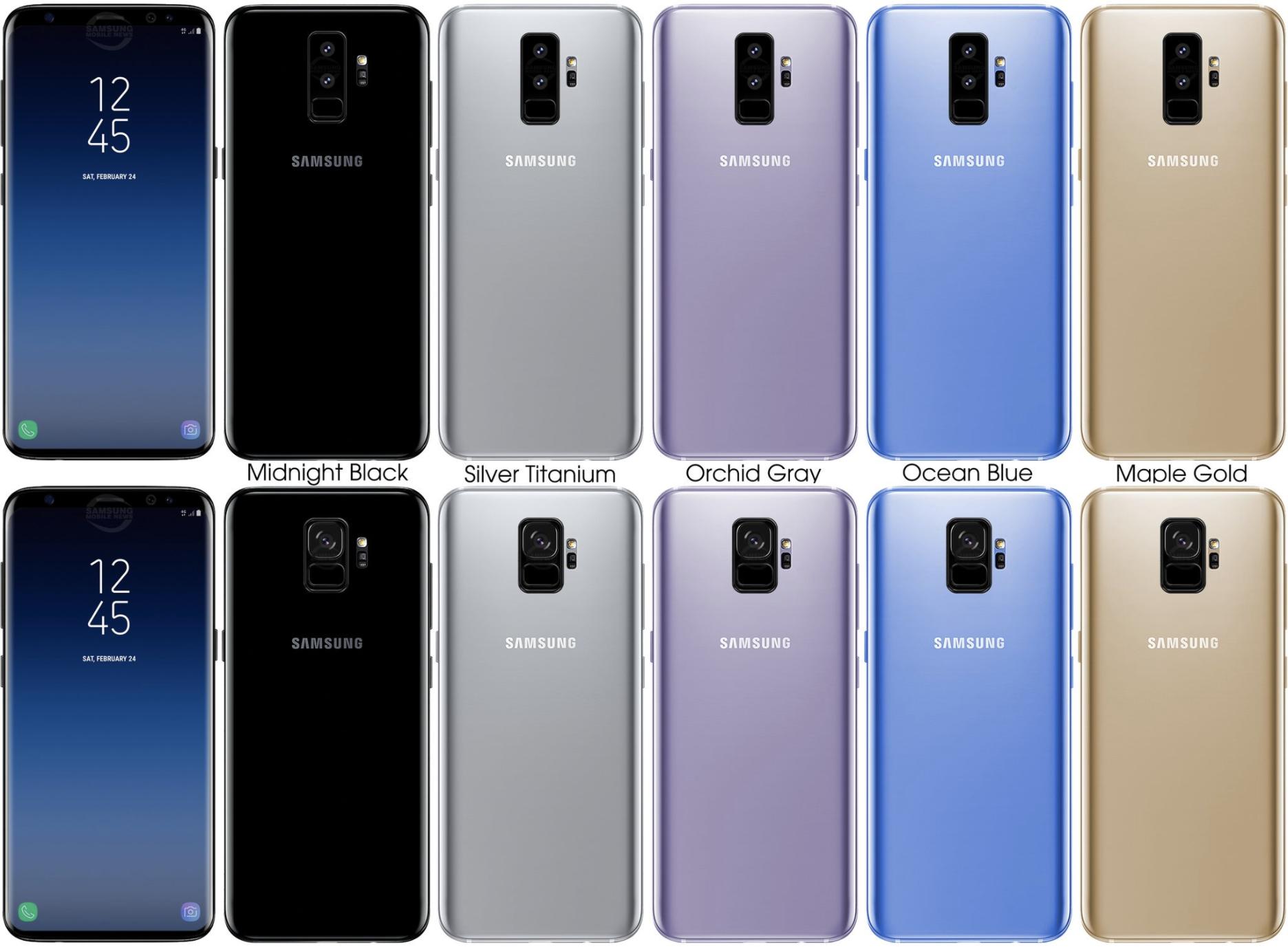 Samsung Galaxy S9 diferente Plus