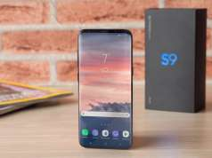 Samsung Galaxy S9 difuzoare stereo iPhone