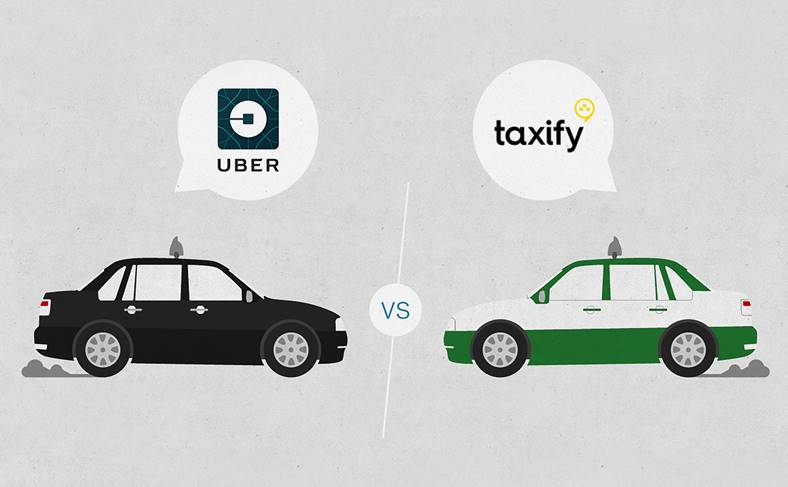 Uber taxify interzise bucuresti