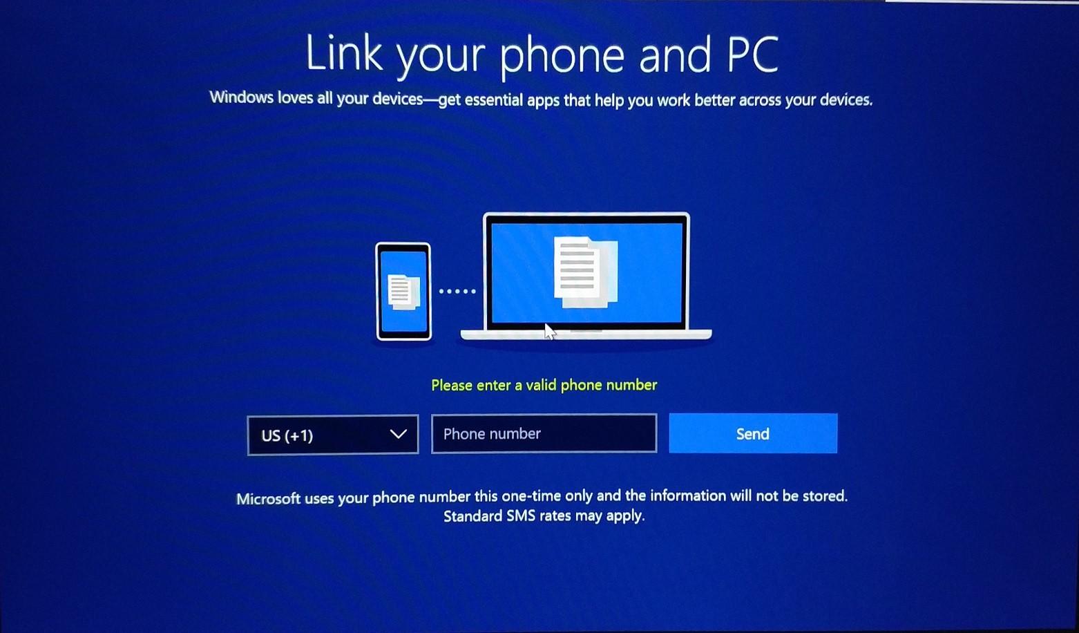 Windows 10 numar telefon instalare