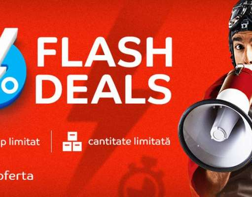 eMAG Flash Deals. Reduceri Exceptionale