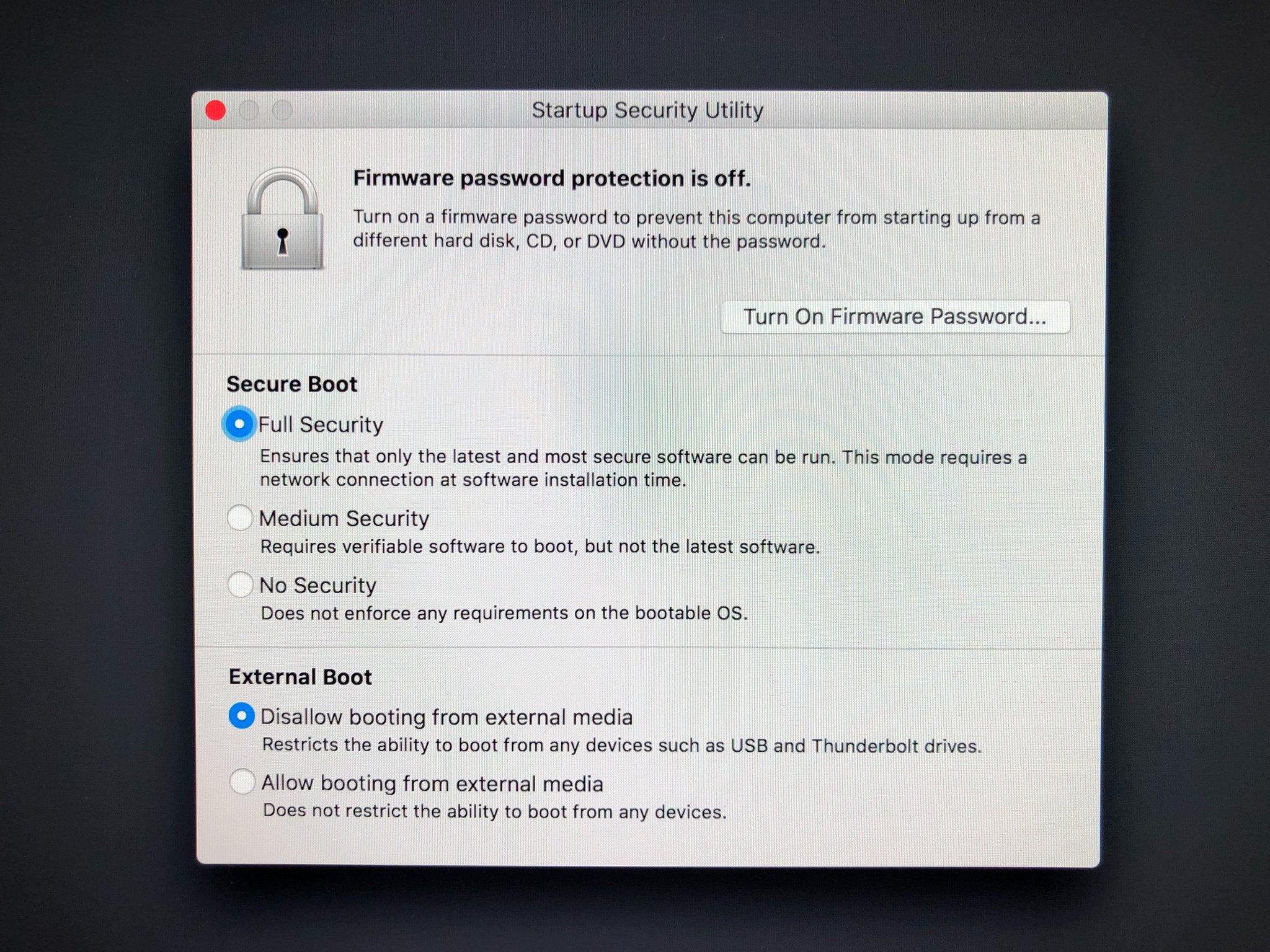 iMac Pro T2 chip securitate