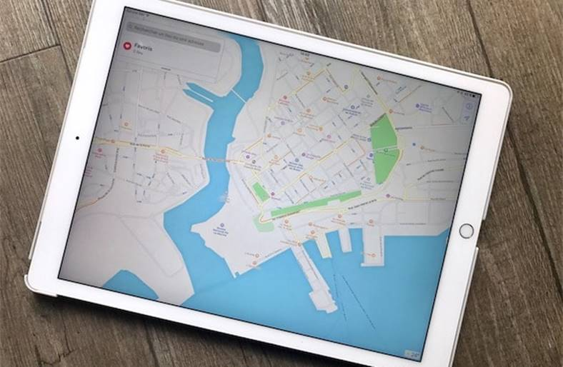 iOS 11 Apple Maps lista aeroporturi malluri