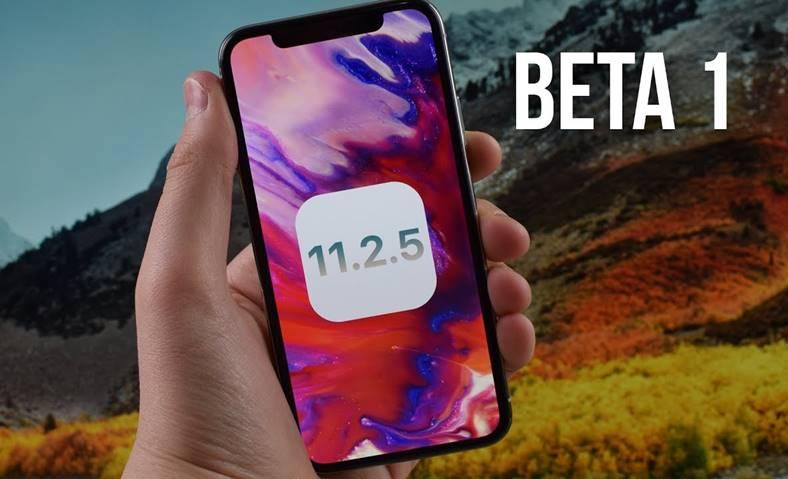 iOS 11.2.5 beta 1 performante