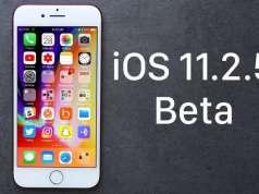 iOS 11.2.5 beta 2 performante iOS 11.2.1