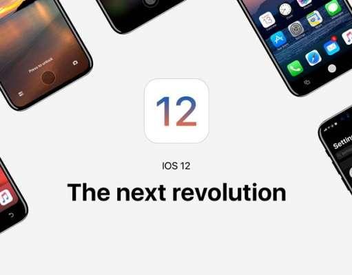 iOS 12 aplicatii iphone ipad mac