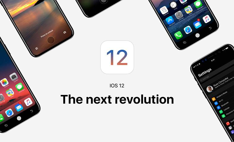 iOS 12 aplicatii iphone ipad mac