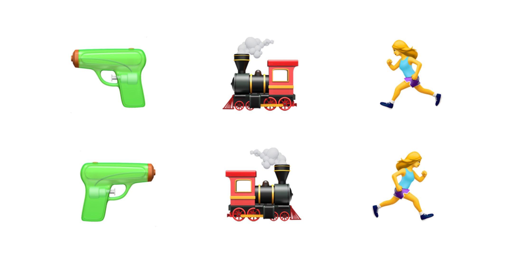 iOS 12 caractere emoji inversate