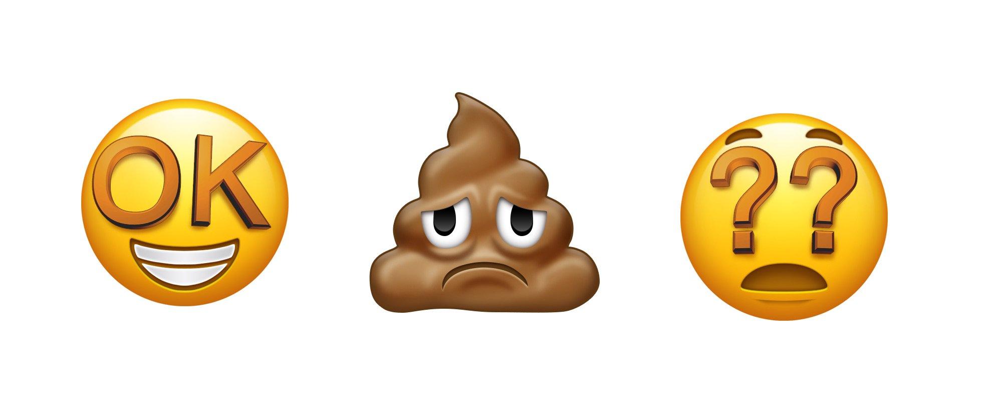 iOS 12 caractere emoji noi