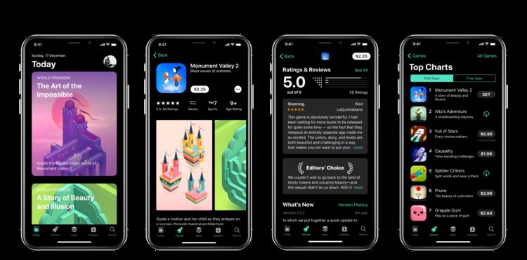 iPhone X Dark Mode concept 5