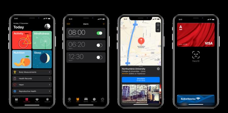 iPhone X Dark Mode concept 7
