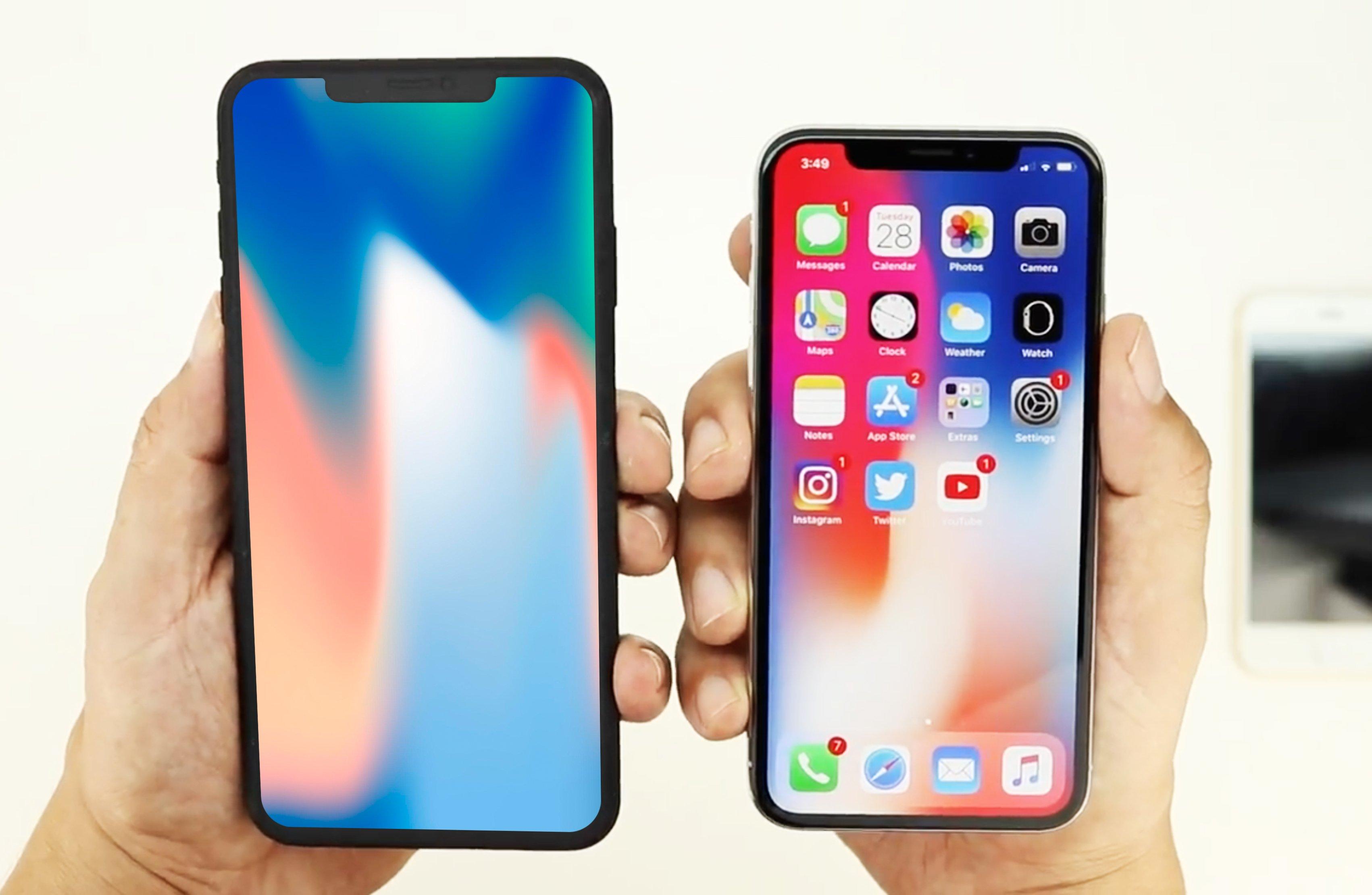 iPhone X Plus comparat iPhone X
