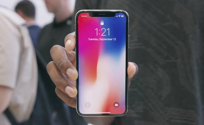 iPhone X face id doua fete
